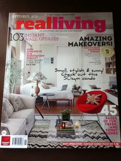 Day 20: What I Read #realLiving #interiors #home