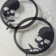 Rockin Skull Earrings