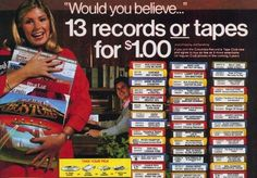 35 Music Experiences You'll Never Have Again.  Kids these days will never know the joy of going to the record store to buy music on an inferior medium from a man who hates you.