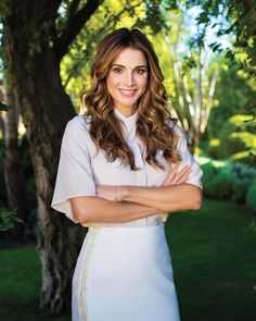 ♔♛Queen Rania of Jordan♔♛... March 2017 - Laha Magazine