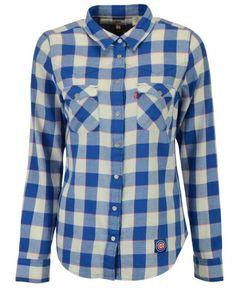 Levi's Women's Chicago Cubs Buffalo Western Button-Up Shirt
