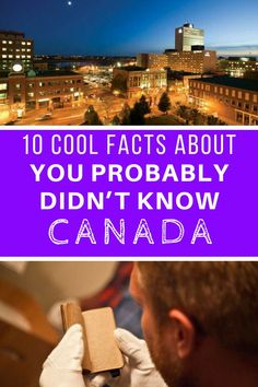 10 cool facts about Canada you probably didn't know. Canada is the land of the… Travel Advice, Travel Guides, Travel Tips, Fun Travel, Alberta Canada, Travel With Kids, Family Travel, Vancouver, Facts About Canada