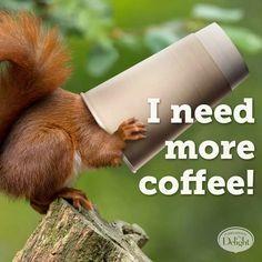 #coffee #coffeehumor  We know the feeling!