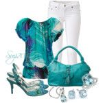 Teal Contest - Polyvore