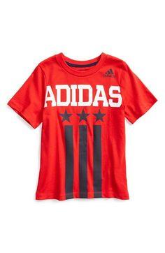 adidas  USA  Graphic Cotton T-Shirt (Toddler Boys   Little Boys)  8fe13914b8d