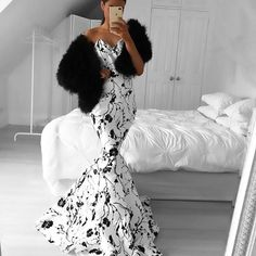 Come through with #blackandwhite for your fabulous #weddingday. I love this look. What do you guys think? YAY or NAY? . . . . . . . . . . . #weddingdress #weddinggown #wedding #dresses #bridetobe #weddingstyle #beautifulbride #weddingphotographer #weddinginspiration #weddingplanner #weddingparty #proposal #instabride #redcarpet #princess #goals #beauty #instastyle #musthave #fashionable #chic #stylish #fashionblogger #instabride #weddingideas #littlebride #bridalparty #flowergirl