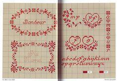 View album on Yandex. Cross Stitch Love, Cross Stitch Alphabet, Cross Stitch Borders, Cross Stitch Samplers, Cross Stitch Charts, Cross Stitching, Cross Stitch Patterns, Embroidery Alphabet, Diy Embroidery