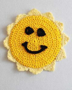 Photo Pattern Four Seasons CD Coasters Crochet