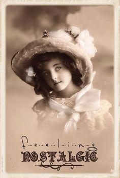 Brocante Brie, bewerkte vintage foto