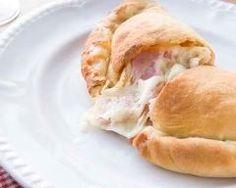 Calzone au jambon et fromage (facile, rapide) - Une recette CuisineAZ
