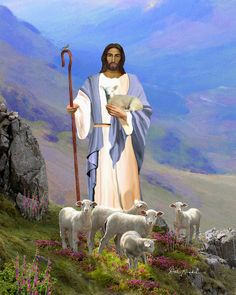 christian+religious+images   Painting by Christian Artist Dale Kunkel - Christian Religious ...