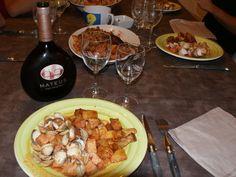 Carne de porco alentejana (Emincé de porc aux vongoles) recette portugaise