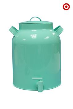 No party's complete without a beverage dispenser, especially one that's such a pretty minty hue. This easy-to-use dispenser means guests can help themselves to refills, making hosting duties easier on you!