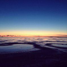 "©wiilailee: ""Keväinen auringonlasku"" #pientalojapiha"