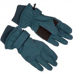 Glove, legion blue Herringbone, Minymo
