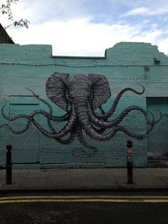 Love this graffiti art! Beautiful! Would make a rad tattoo! #bricklane #shoreditch #london