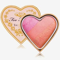 Too Faced Sweethearts Perfect Flush Blush. Fantastic little blush for all complexions Blush Makeup, Skin Makeup, Beauty Makeup, Makeup Stuff, Makeup Tips, Too Faced Blush, Look Con Short, Baked Blush, Too Faced Makeup