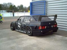 Alfa Romeo 75 black
