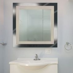 Square LED Spa Vanity Mirror (Frosted) - OPEN BOX RETURN