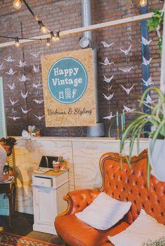 met Happy Vintage ben je verzekerd van toffe vintage decoratie. //Foto: Anouk Fotografeert.