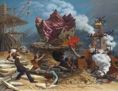 Peter Blume's symbol-rich paintings are now at PAFA (Pennsylvania Academy of the Fine Arts) until April 5.  Check out this brief but elucidating podcast with PAFA Curator Robert Cozzolino!