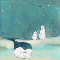 Милые иллюстрации художницы Кристианы Пярн
