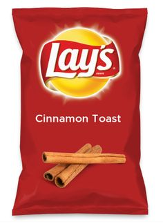 Wouldn't Cinnamon Toast be yummy as a chip? Lay's Do Us A Flavor is back, and the search is on for the yummiest flavor idea. Create a flavor, choose a chip and you could win $1 million! https://www.dousaflavor.com See Rules.