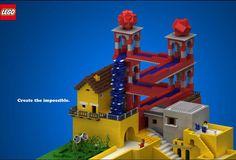 More Lego MC Escher...