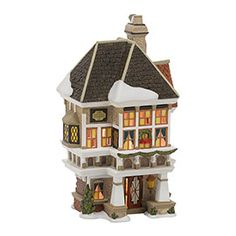 "Department 56: Products - ""Nephew Fred's Home"" - View Lighted Buildings"