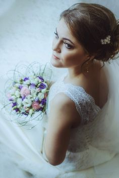 BRIDE 2016 with Elena Ponomareva and my bouquet
