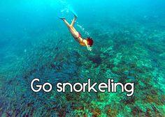 Go snorkeling - Costa Rica bucketlist