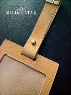 the label on the bag – Milo&Hatak