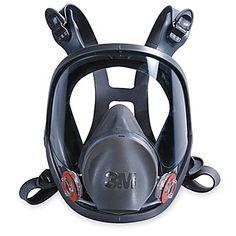 3M 6900 Full-Face Respirator - Large H-1472 - Uline