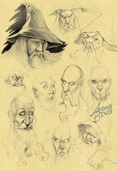 Sketches 02 by *andrebdois on deviantART