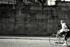 bike ride (A Coruña-Galicia) Street, Walkway