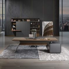 Aulenti executive desk arnold s office furniture office tour yum china offices shanghai Office Furniture Online, Office Furniture Design, Office Interior Design, Office Interiors, Office Designs, Corporate Office Design, Office Table Design, Bureau Design, Design Desk