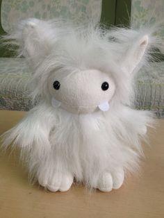 grrr ... beastie but very cute ! We can make custom plush toys for your business.  #customplushtoy