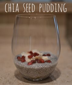 Love, love this chia seed pudding!  (recipe for chocolate and vanilla)