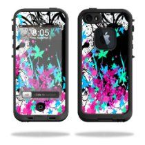 MightySkins Protective Vinyl Skin Decal Cover for LifeProof iPhone 5 / 5S Case fre Case Sticker Skins Leaf Splatter