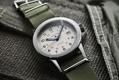 The Longines Heritage Military COSD has a tough, military feel but high-end Swiss guts.