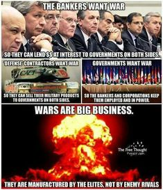 They are the true criminals.!!!! They make war to take control of thier Country for the NWO!!!!!
