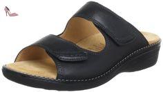 Ganter 5-205861-01000, Mules femme - Noir (Schwarz 0100), 36 EU - Chaussures ganter (*Partner-Link)