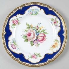 Charlotte Salad Plate by Royal Worcester Vintage Dishware, Vintage Cups, Vintage Plates, Vintage Dishes, Vintage Tea, Antique Dishes, Antique Plates, Antique China, Vintage China