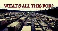Video: Huge Amount of Military Equipment Moving Across Country, Is US Preparing for a Major War? - https://christiantruther.com/conflicts/video-huge-amount-military-equipment-moving-across-country-us-preparing-major-war/