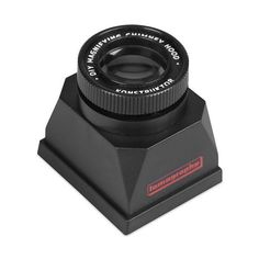 #Konstruktor Magnifying Chimney Hood | The #Lomography Konstruktor Magnifying Chimney Hood is a viewfinder accessory that aids in acquiring sharp focus with the Konstruktor 35mm film SLR #camera