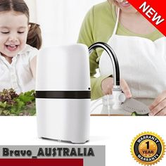 Water Filter Filtration Purifier Dispenser Carbon Purify On Tap Faucet System