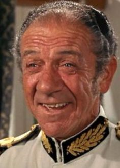 Sid James, Carry On Up The Khyber.Far and away the best Carry on movie