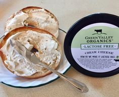 Green Valley Organics Lactose Free Cream Cheese is delicious.  It spread wonderfully on my toasted bagel.  It has the perfect balance of sweet and tart. It's made with only four ingredients: organic pasteurized cream, lactasee enzyme  (which breaks  down the Lactose into two easily digestible sugars), sea salt and live active cultures. If you are Lactose intolerant or not, this great tasting and good cream cheese is a gteat choice for you. #trynatural #gotitforfree