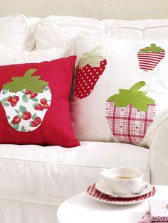 Deko mit Erdbeeren zum Selbermachen
