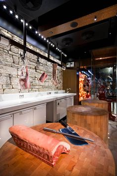 Victor Churchill butcher shop by Dreamtime Australia Design, Sydney store design